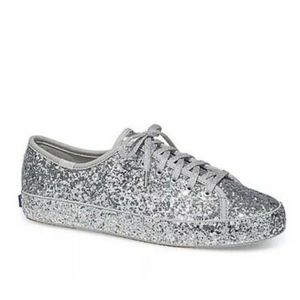 NIB Keds For Kate Spade Kick KS Glitter Sneakers